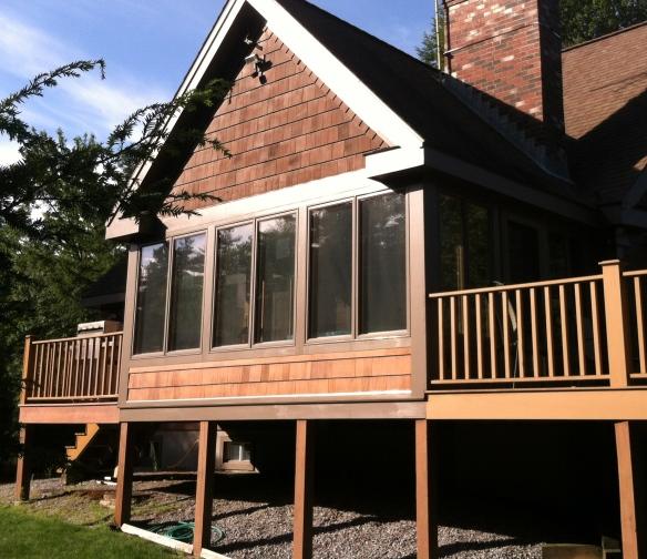 Screen porch to 3 season porch c g construction co for 3 season porch